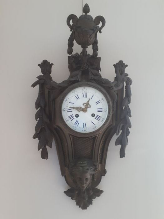 Wall decorative clock - France 1900