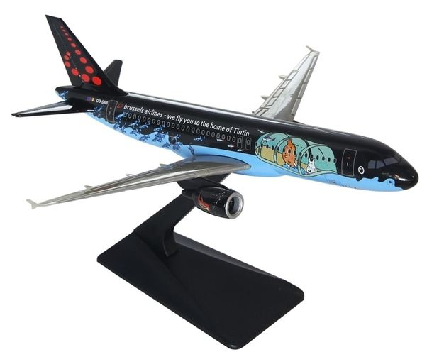 Kuifje, Tintin - Modelvliegtuig Moulinsart - Airbus A320 Brussels Airlines OO-SNB - Other (2016)
