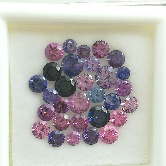 Lot of 30 sapphires - 3.37 ct