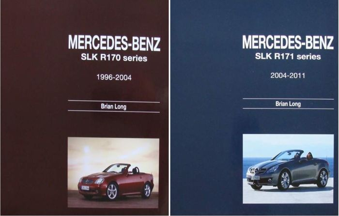 2 Books - Mercedes-Benz SLK - R170  &  R171 series  - 2015 (2 items)