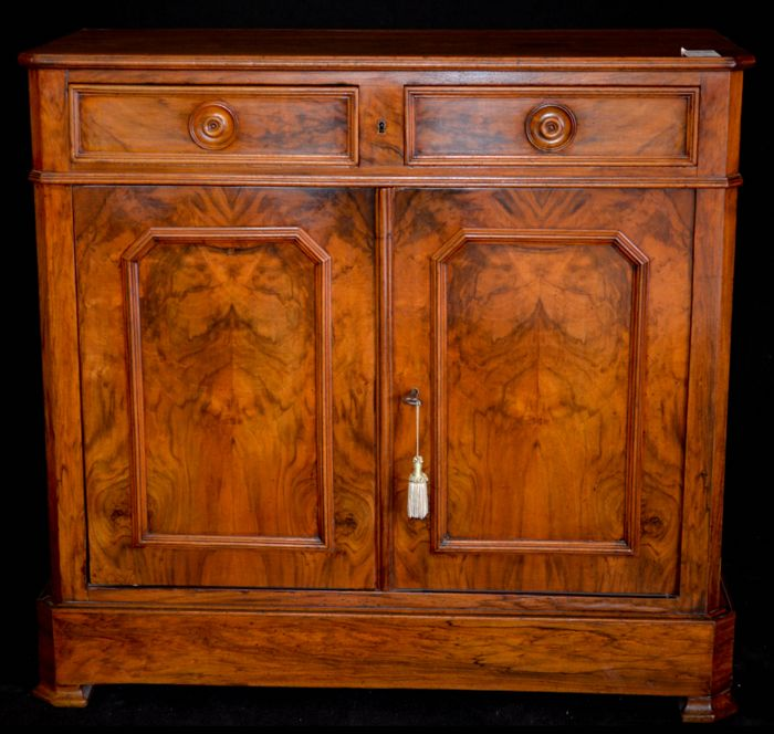 Louis Philippe walnut sideboard - France - c. 1840