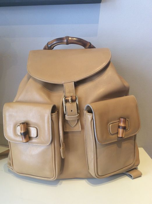 9014cefc1e2 Gucci - Bambou Backpack - Vintage - Catawiki
