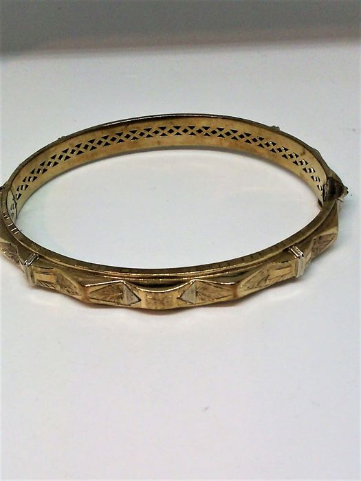 Antique bracelet in 8 kt gold (333)