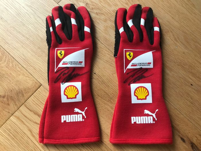 Kleding - Scuderia Ferrari F1 gloves Felipe Massa - 2012 (1 items)