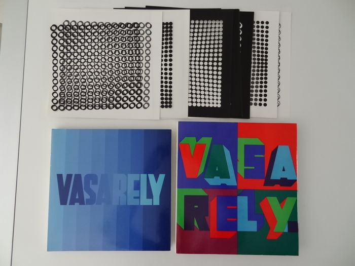 Victor Vasarely  - Lot with 2 books Editions du Griffon Neuchatel  - 1973/1974