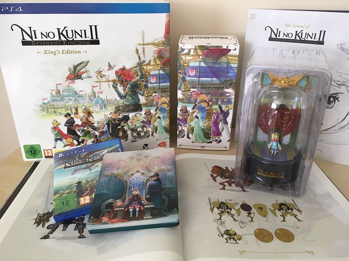 Ni No Kuni II Revenant Kingdom Kings Edition PS4 - Limited / Special Edition Collectors Set