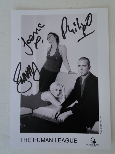 Photograph - The Human League - Signed
