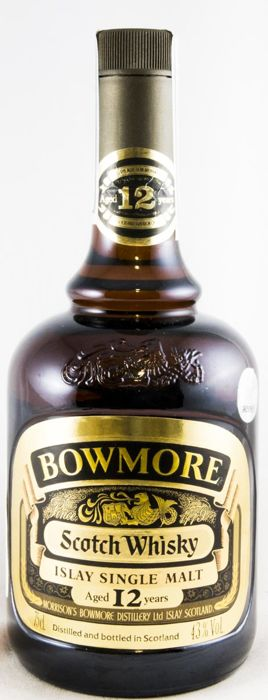 Bowmore 12 years old - bottled 1980s OB