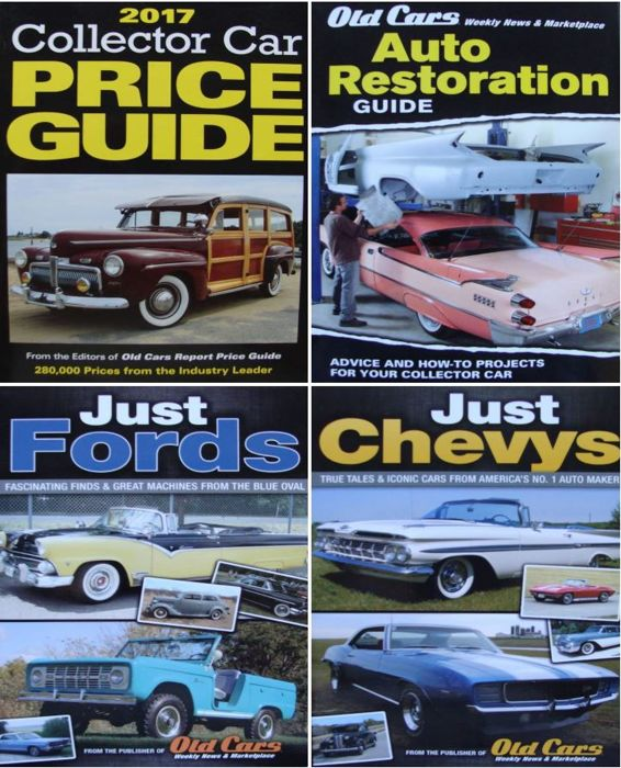 Classic Car Price Guide >> Books Collector Car Price Guide Etc 2017 4 Items
