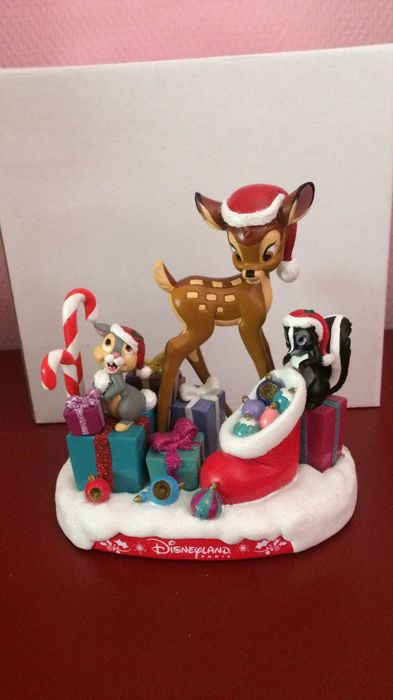 Disneyland Paris - Figurine - Bambi Christmas