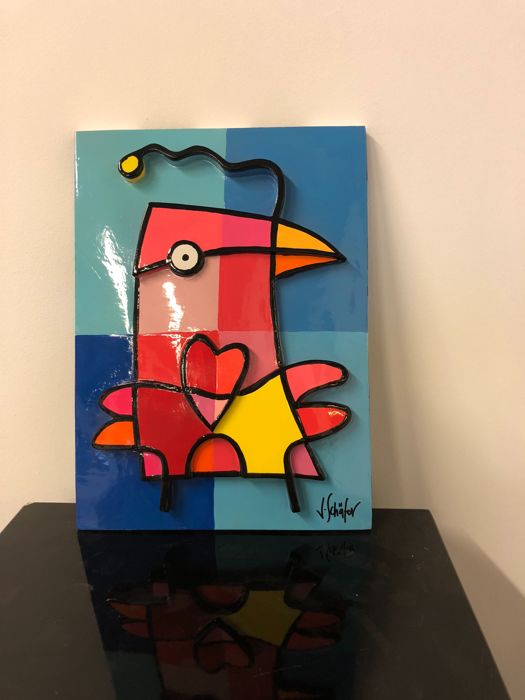 Jacqueline schafer - Love bird relief