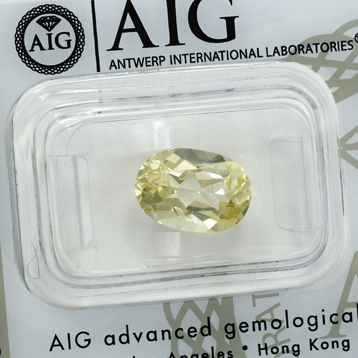 Golden Beryl - 3.17 ct