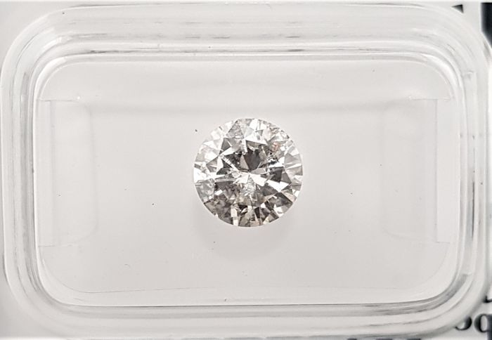 1.13 ct - Natural White Diamond - G Color - SI3 - Very Low Reserve!