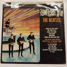 "The Beatles ‎–"" Something New"" LP Album"