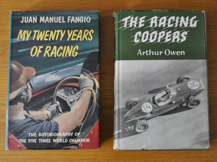 Livres - The Racing Coopers 1959 & Fangio my Twenty Years  - 1968-1968 (1 objets)