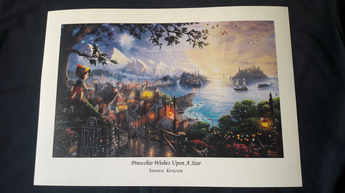 Disney Dreams -  Lithograph - Pinocchio Wishes Upon A Star - Prima edizione (2016)