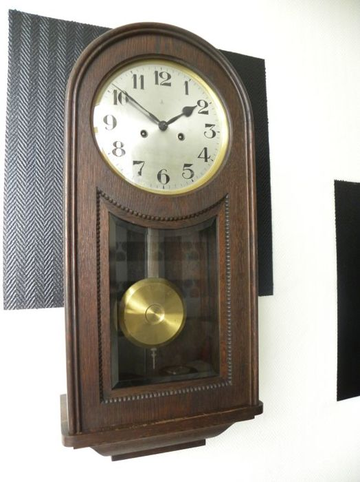Exceptional Gustav Becker wall clock, early 20th century