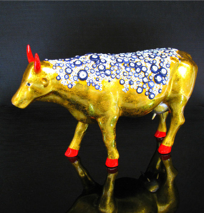 CowParade - Cow The Evil Eye Large - Retired !