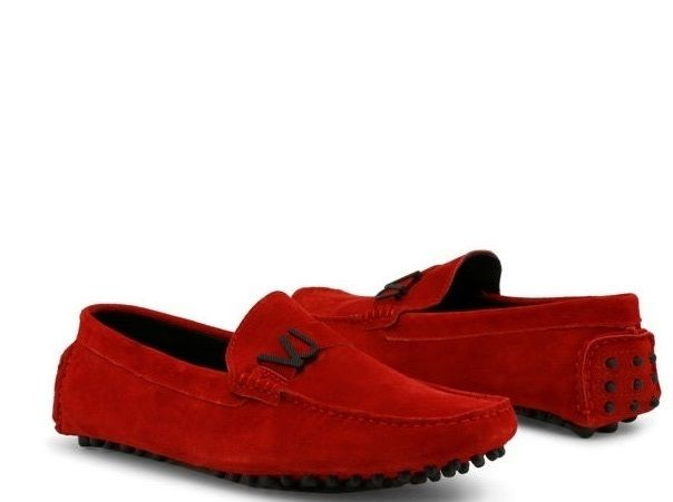 Red - Suede - NO RESERVE PRICE