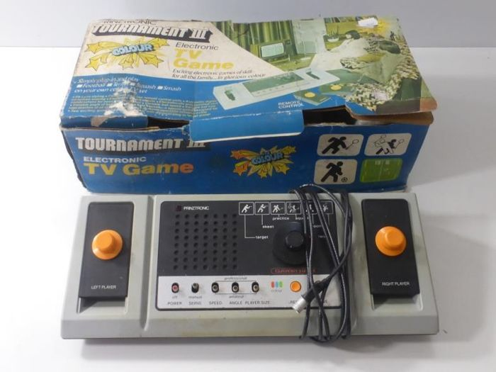 Prinztronic Tournament III Colour TV Game Boxed With Instructions 1970's