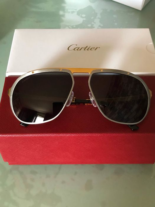 16fed7a0bcd Cartier - Santos Dumont sunglasses - New - Catawiki