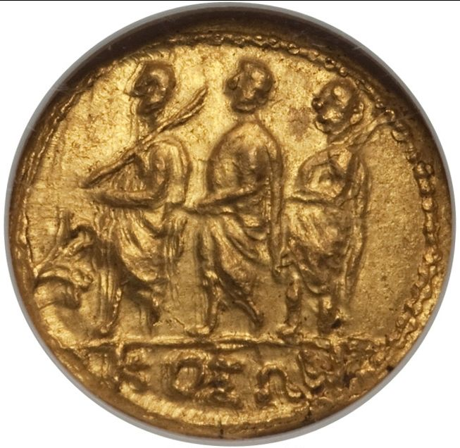 Greece (ancient) - Kingdom of Scythia. Koson Stater  (approx. 50-25 BC) - Gold
