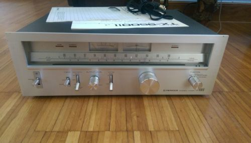PIONEER TX-9500II Tuner, with manuals