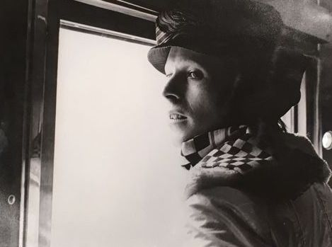 Lee Black Childers (1941-)  - David Bowie on Trans-Siberian express, 1973
