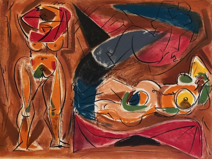 André Masson (1896-1987) - Odalisque