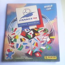 Panini - France 98 - Complete album with Iran