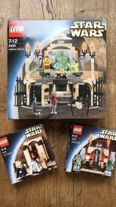 Star Wars - 4480 + 4475 + 4476 -K4480 Jabba's Palace Kit