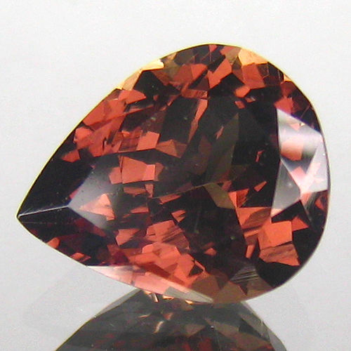 """Color Changing"" Malaya Garnet - 3.03 Carat – Brown to Orangy Red – No Reserve"