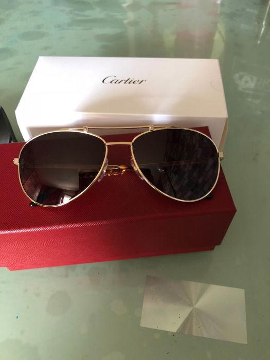 ee5174f25f1 Cartier - Pilot Santos Dumont Sunglasses - As new - Catawiki