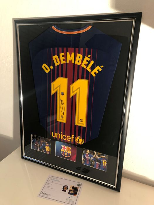 online store 39070 a5db0 FC Barcelona - Spanish Football League - Ousmane Dembele ...