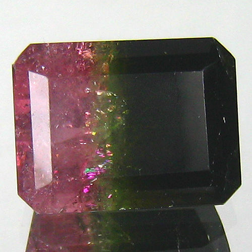 Watermelon Tourmaline - 6.70 - Green, Red - No Reserve