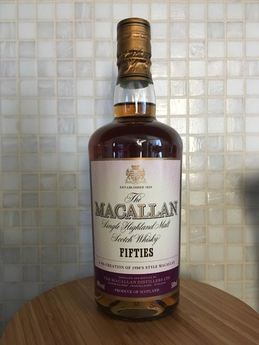 The Macallan Fifties - OB 50cl
