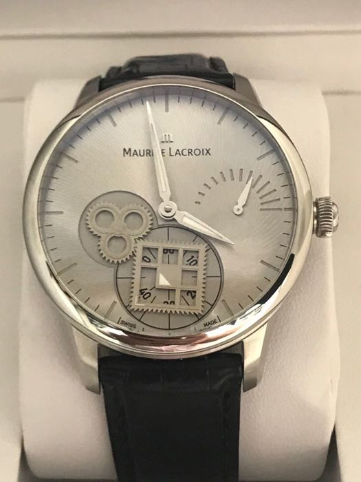 Maurice Lacroix - Masterpiece Roue Carree Seconde - Men - 2011-present 434c97729f7