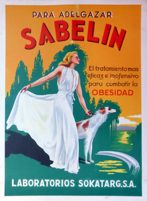 Anonymous - Sabelin, treatment to fight obesity - 1940s