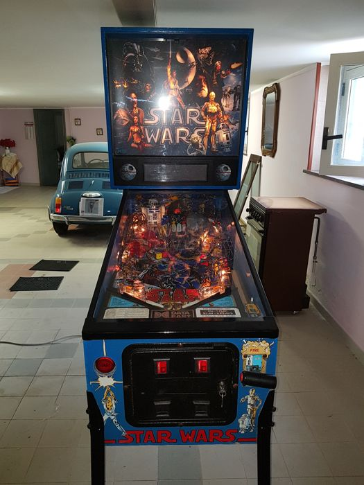 Star Wars Data Est pinball machine - VIDEO AVAILABLE