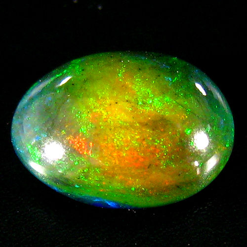 Opal - Brown, Play of colours - 2.37 ct - No Reserve