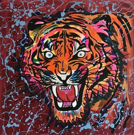 Rick Triest - Tiger