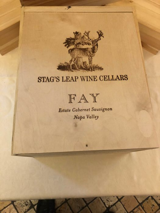 2014 Stag's Leap Wine Cellars 'Fay' Cabernet Sauvignon - 6 bottles in OWC