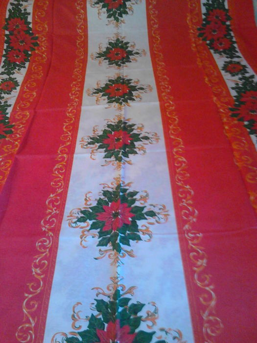 Star rectangular table cloth - from 6/8 - Cotton