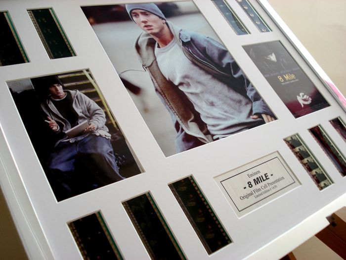 Eminem 8 Mile large film cell movie display
