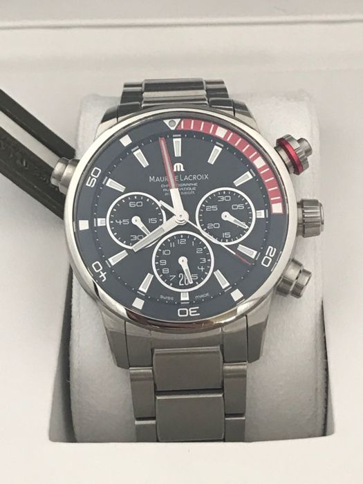 Maurice Lacroix - Pontos S Extreme Chronograph - PT6018-SS002-330 - Heren - 2011-heden