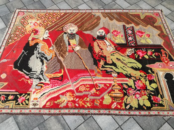 Qarabag picture carpet, 200/135 cm