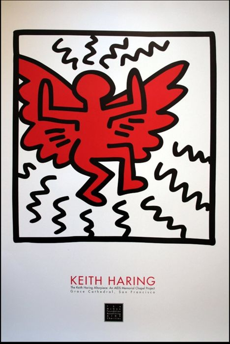Keith Haring - AIDS Memorial - 1990