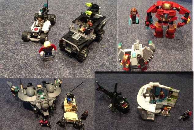 Super Heroes - 76030 + 76007 + 76031 + 76003 - Avengers Age of Ultron and more