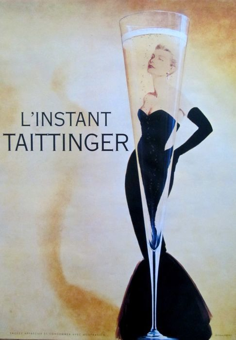 Anonymous - Champagne Taittinger - 1980