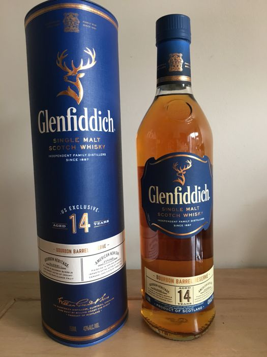 Glenfiddich 14 years old Bourbon Barrel Reserve US Exclusively - 75cl